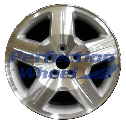 WAO.2287A 17x6.5 Bright sparkle silver Machined