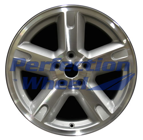 WAO.2303A 17x7 Sparkle Silver Machined