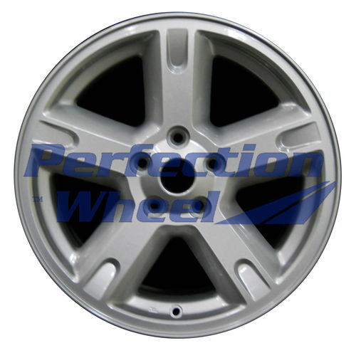 WAO.2303A 17x7 Bright Sparkle Silver Full Face
