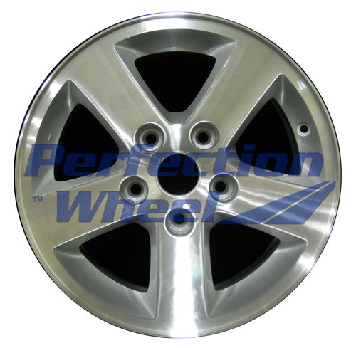 WAO.2334 16x6.5 Bright sparkle silver Machined
