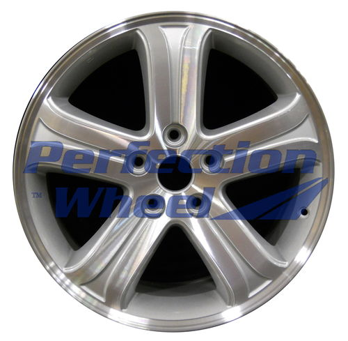 WAO.2369 19x7.5 Bright Sparkle Silver Machined Bright