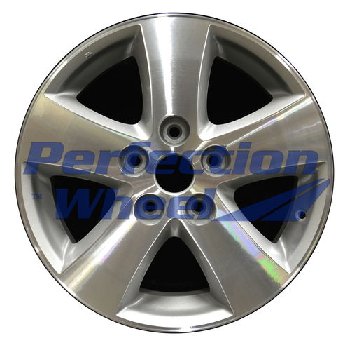 WAO.2372 17x6.5 Sparkle Silver Machined