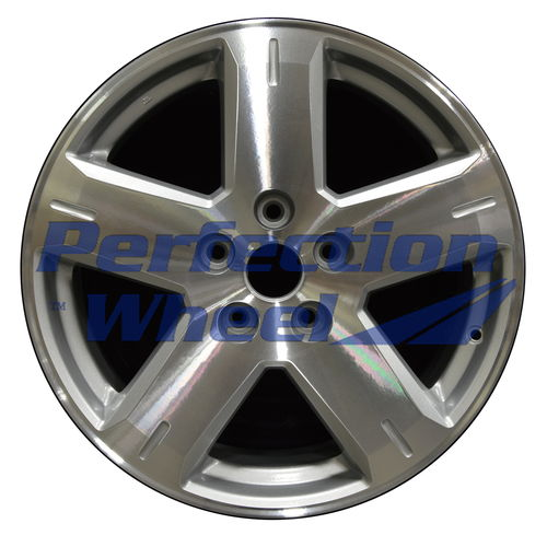 WAO.2373 19x7 Bright Sparkle Silver Machined