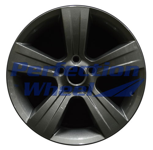 WAO.2380A 17x6.5 Dark Gray Metallic Full Face