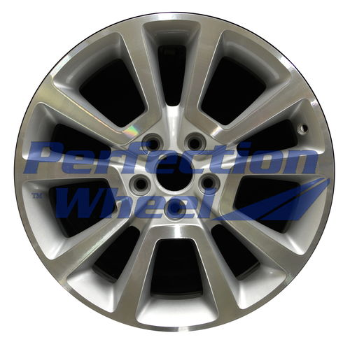 WAO.2381 18x7 Bright medium silver Machined Bright