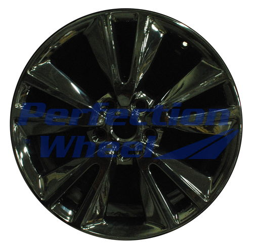WAO.2393 20x8 Gloss Black Full Face PIB