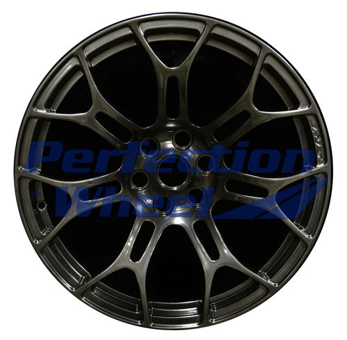WAO.2468FT 18x10.5 Hyper Dark Smoked Silver Full Face Dark