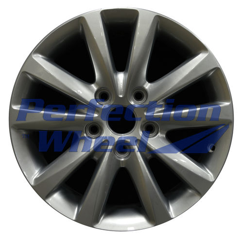 WAO.2489 17x6.5 Hyper Bright Silver Full Face