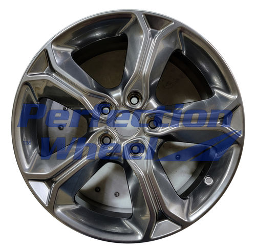 WAO.2519 19x7 Hyper Dark Smoked Silver Full Face Bright