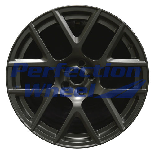 WAO.2527A 20x9 Flat Matte Black Full Face