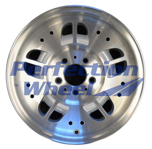 WAO.3071 15x7 Fine metallic silver Machined
