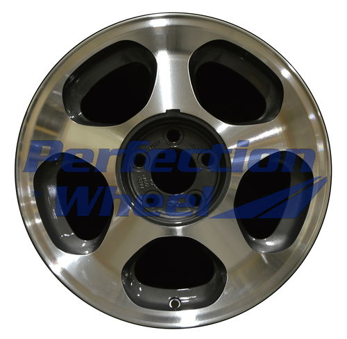 WAO.3173A 17x8 Blueish metallic charcoal Machined