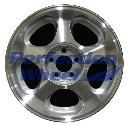 WAO.3173A 17x8 Sparkle Silver Machined
