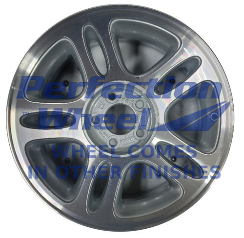 WAO.3174A 17x8 Black Machined