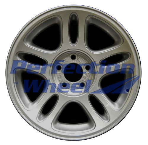 WAO.3174A 17x8 Sparkle Silver Full Face