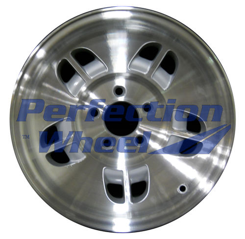 WAO.3201 15x7 Fine metallic silver Machined