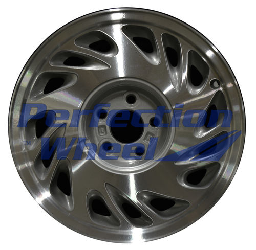WAO.3227RT 16x7 Sparkle silver Machined