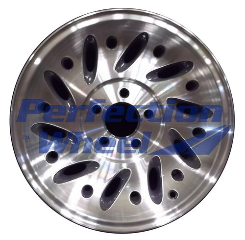 WAO.3261B 15x7 Flat Dark Gray Machined