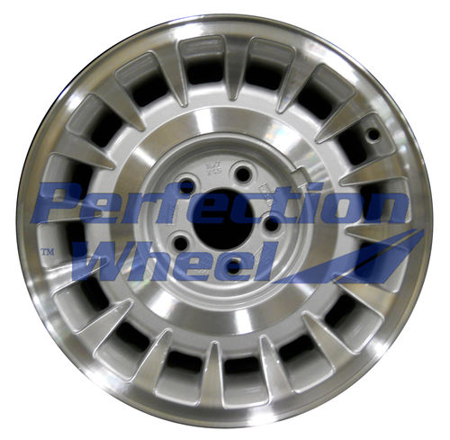 WAO.3271 16x7 Sparkle Silver Machined