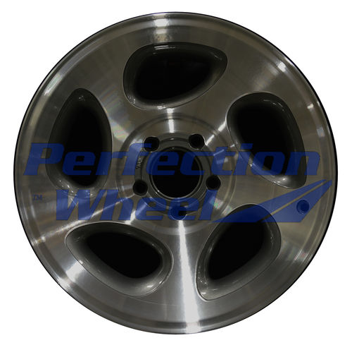 WAO.3293B 16x7 Dark Metalic Charcoal Machined