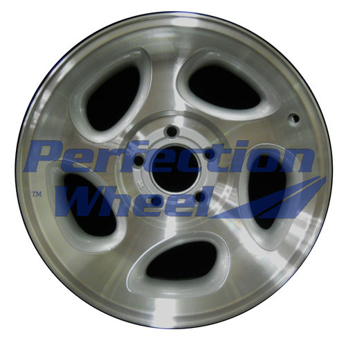 WAO.3293B 16x7 Sparkle Silver Machined