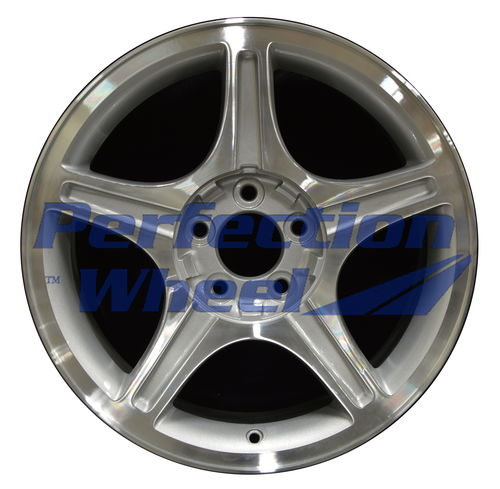 WAO.3307A 17x8 Sparkle Silver Machined
