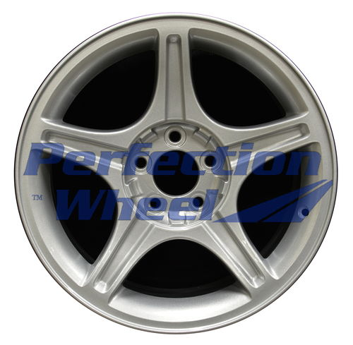 WAO.3307B 17x8 Sparkle Silver Full Face