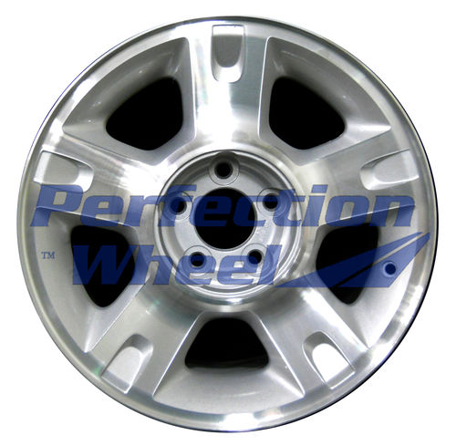 WAO.3416 16x7 Sparkle Silver Machined