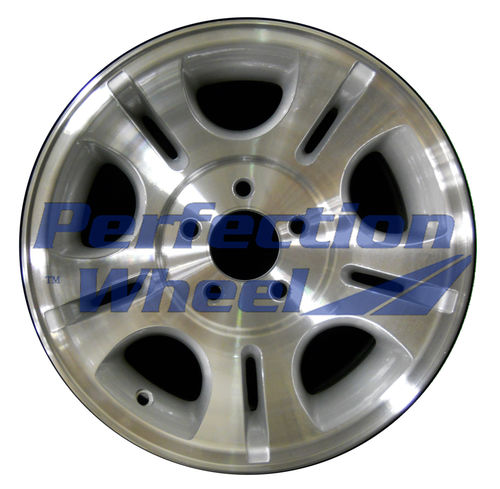 WAO.3431A 15x7 Sparkle Silver Machined