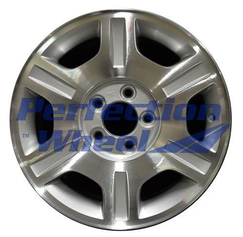 WAO.3456A 16x7 Sparkle Silver Machined