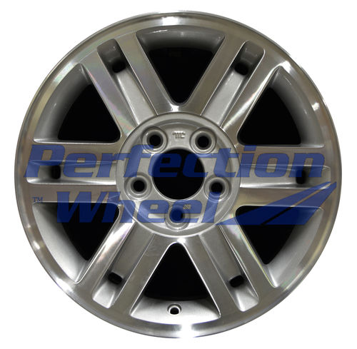 WAO.3457A 16x7 Sparkle Silver Machined