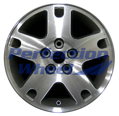 WAO.3459A 16x7 Fine Metallic Charcoal Machined