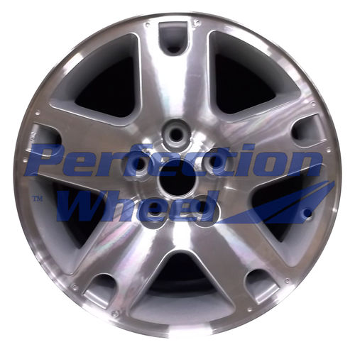 WAO.3459A 16x7 Sparkle Silver Machined