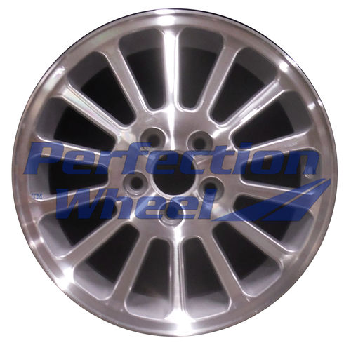 WAO.3485 16x6 Sparkle Silver Machined
