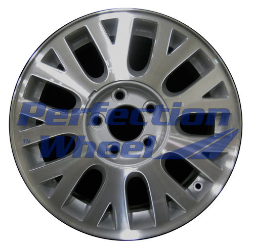 WAO.3497 16x7 Medium Sparkle Silver Machined