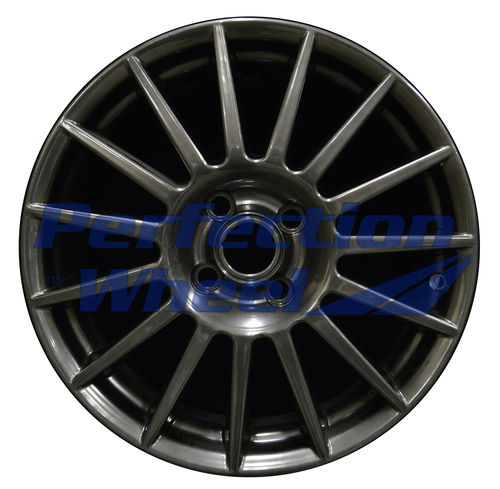 WAO.3507B 17x7 Hyper Dark Smoked Silver Full Face