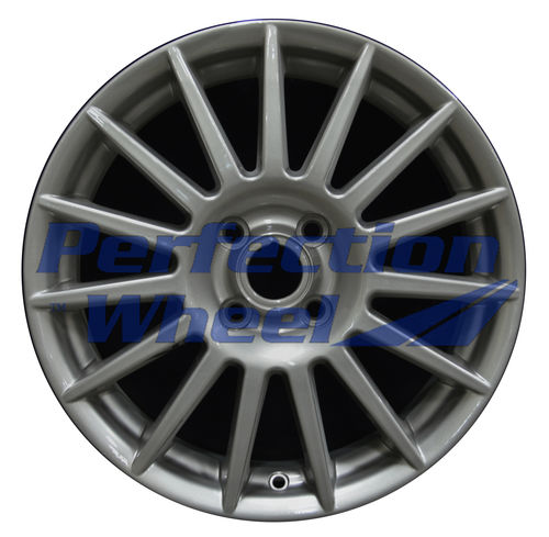 WAO.3507B 17x7 Light Charcoal Silver Full Face
