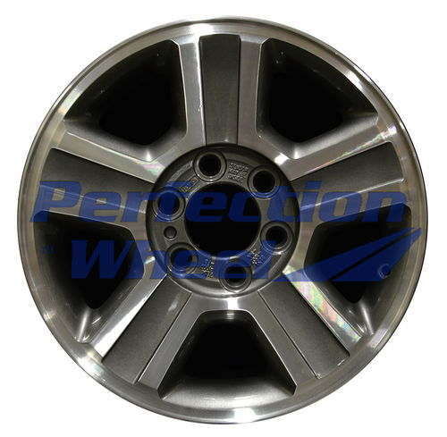 WAO.3554A 17x7.5 Medium Metallic Charcoal Machined
