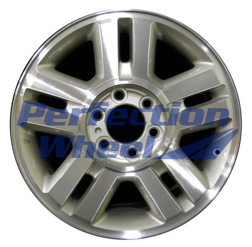 WAO.3559A 18x7.5 Bright Fine Tan Metallic Silver Machined