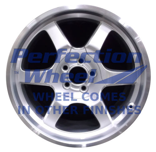 WAO.3569RE 19x11 Hyper Bright Silver Full Face
