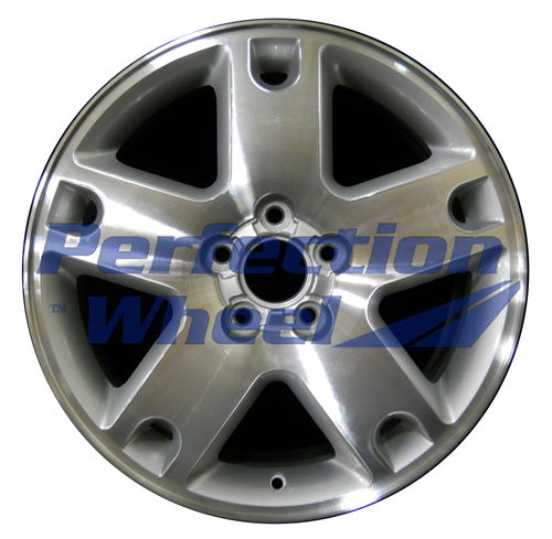 WAO.3573 18x7 Bright Sparkle Silver Machined