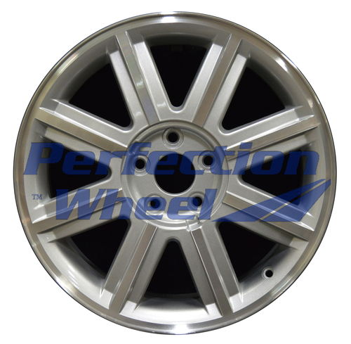 WAO.3581 18x7 Bright Sparkle Silver Machined