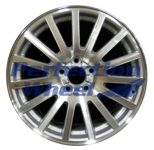 WAO.3582 18x7 Medium Sparkle Silver Machined