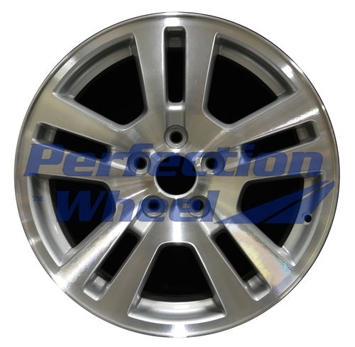WAO.3672 17x7.5 Sparkle Silver Machined