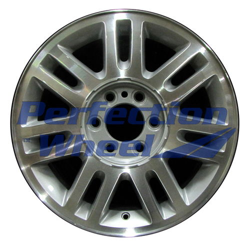 WAO.3784 18x7.5 Bright Sparkle Silver Machined