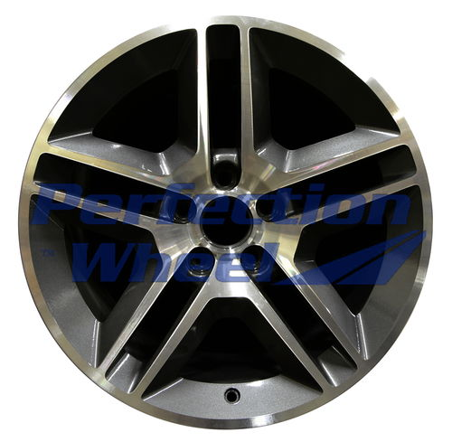 WAO.3814RE 19x9.5 Sparkle Charcoal Machined
