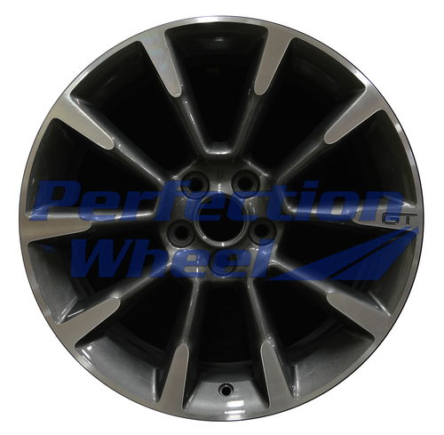 WAO.3863A 19x8.5 Dark Blueish Charcoal Machined
