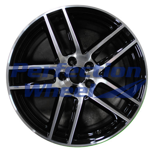 WAO.3887FT 19x9 Black Machined