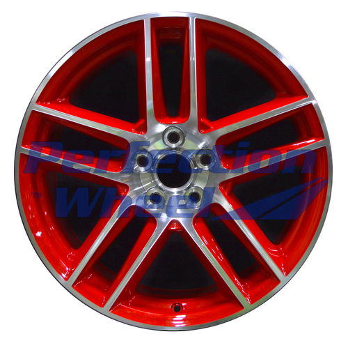 WAO.3887FT 19x9 Red Machined