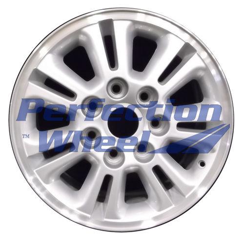 WAO.3894 17x7.5 Sparkle Silver Flange Cut [WAO.3894.PS08